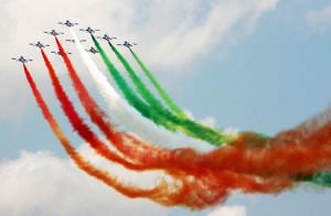 frecce tricolori - Team e debriefing
