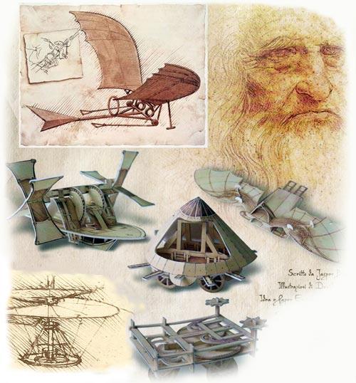 Team Building. Leonardo Da Vinci- Macchine volanti